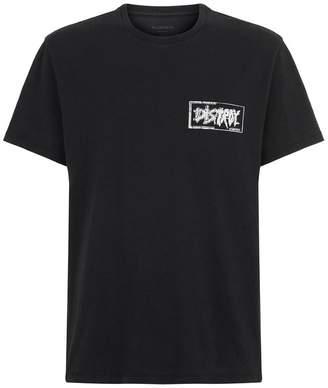 AllSaints Distroy Cotton T-Shirt