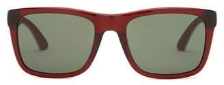Puma Suede 54mm Square Sunglasses