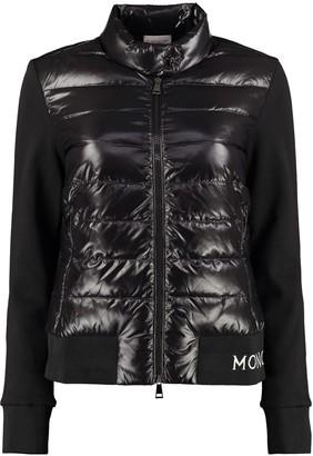Moncler Padded Panel Full-zip Sweatshirt