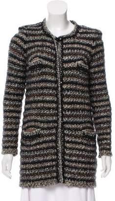 Isabel Marant Wool-Blend Knit Cardigan