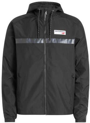 New Balance Zipped Jacket with Hood