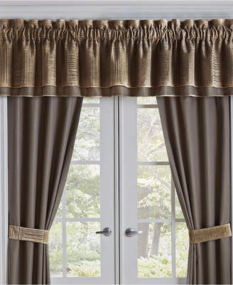 "Croscill Closeout! Benson Straight 72""x 20"" Window Valance Bedding"