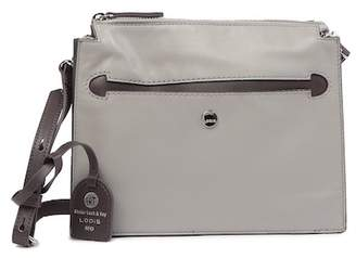 Lodis Downtown Kaya RFID-Protected Leather Crossbody Bag