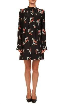 Liviana Conti Floral Silk Dress