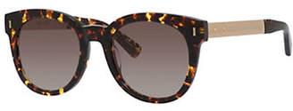 Bobbi Brown The Hannah-S 50mm Rectangular Sunglasses