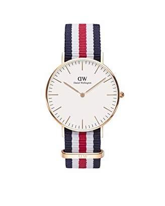 Daniel Wellington Women's Quartz Watch Classic Canterbury Lady 0502DW with Plastic Strap