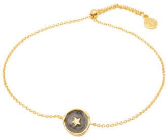 Gorjana Enamel Star Coin Bracelet