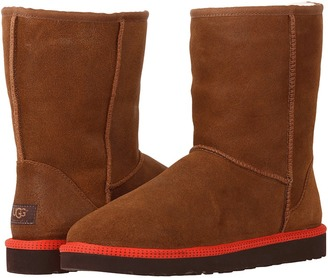 UGG Classic Short Leather $190 thestylecure.com