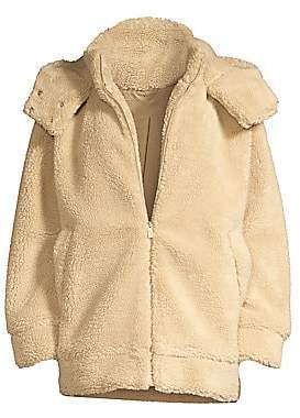 Alo Yoga Women's Norte Teddy Coat