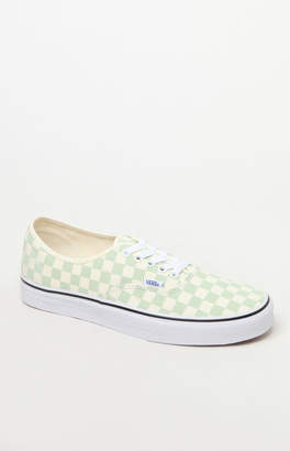 Vans Checkerboard Authentic Peach Shoes
