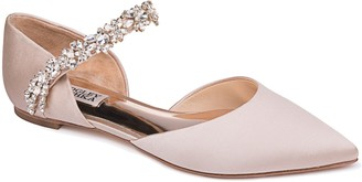 Badgley Mischka Collection Erin Embellished Flat