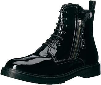 Armani Exchange A X Women's Patent Combat Boot