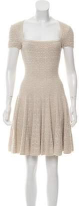 Alaia Knit Knee-Length Dress