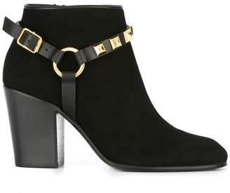 Giuseppe Zanotti Design buckled ankle boots