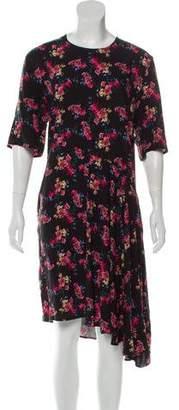 Public School Rima Floral Asymmetric Dress