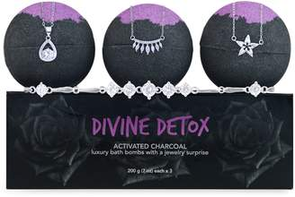 Jewel Within 3-Piece Divine Detox Hidden Jewellery Bath Bomb Set