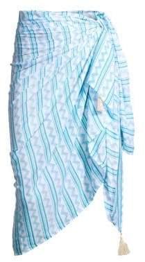 Cool Change coolchange coolchange Women's Tehani Stripe Sarong - Ocean