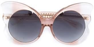 Linda Farrow 143 C3 butterfly sunglasses