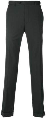 Canali fitted Super 150 trousers