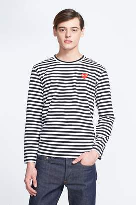 Comme des Garcons Stripe Long Sleeve T-Shirt