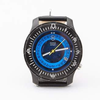 Blade + Blue Vintage Swiss Army Diver's Watch with Blue Dial