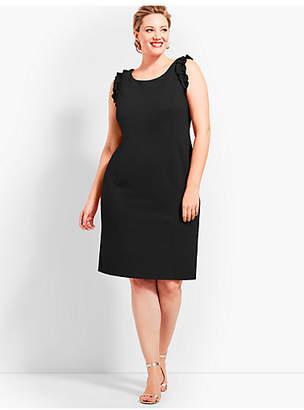 Talbots Ponte Sheath Dress