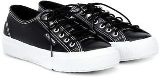 ALEXACHUNG x SUPERGA® leather sneakers