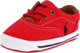 Ralph Lauren Layette Vaughn Crib Shoe (Infant/Toddler)