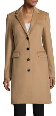 Burberry Tailored Wool-Blend Coat $1,795 thestylecure.com