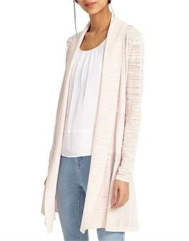 Phase Eight Slub Lili Longline Cardi