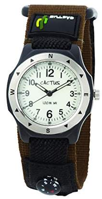 Cactus (カクタス) - [カクタス]CACTUS キッズ腕時計 蓄光ダイヤル CAC-65-M12 ボーイズ 【正規輸入品】