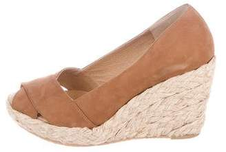KORS Suede Wedge Pumps