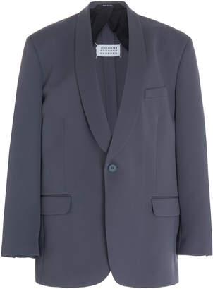 Maison Margiela Crepe Tuxedo Blazer