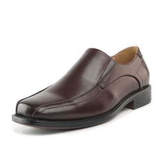 21b879b2515 Andrew Marc BRUNO Bruno Marc STATE-01 Men s Formal Loafers Stretch Oxfords  Slip On Leather