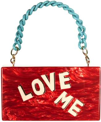 Edie Parker Love Me Box Bag