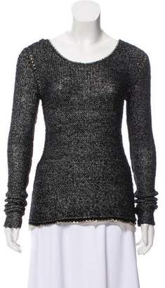 Diane von Furstenberg Embellished Knit Sweater