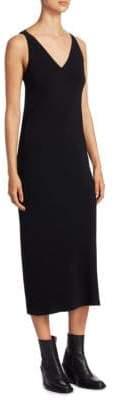 Rick Owens V-Neck Pocket Dress