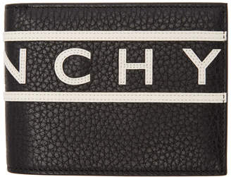 Givenchy Black Reverse Logo Wallet