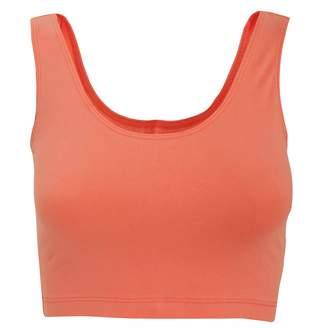American Apparel Womens/Ladies Sleeveless Cotton Spandex Crop Top (M)