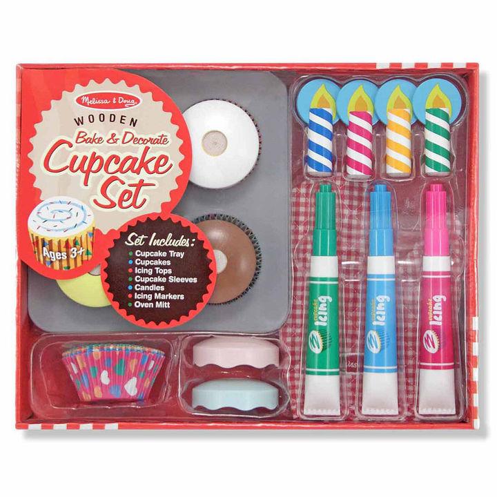 Melissa & Doug Cupcake Play Food Set
