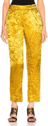 Sies Marjan Willa Cropped Pant in Mustard   FWRD
