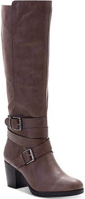Style&Co. Style & Co Jomaris Block-Heel Boots, Women Shoes