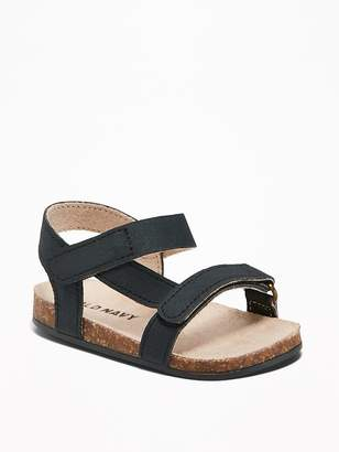 Old Navy Sueded Secure-Strap Sandals for Baby