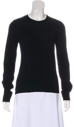 Burberry Long Sleeve Cowl Neck Top
