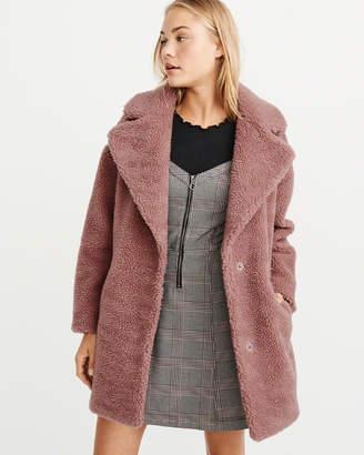 Abercrombie & Fitch Teddy Coat