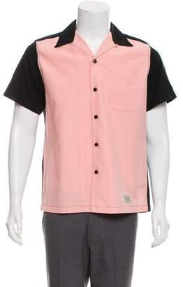 Wacko Maria Guilty Parties 50's Colorblock Casual Shirt w/ Tags