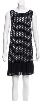 Jason Wu Grey by Silk Hand Print Dress
