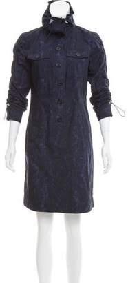 MICHAEL Michael Kors Abstract Print Mini Dress