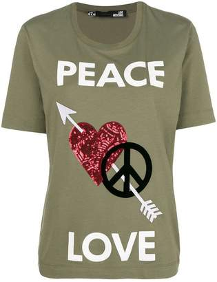 Love Moschino embellished T-shirt