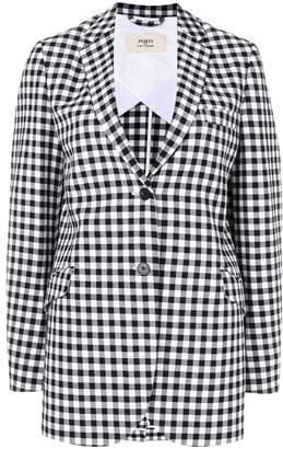 Ports 1961 checkered blazer